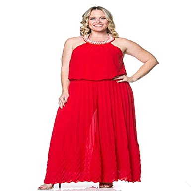 9388512602a9 Image Unavailable. Image not available for. Color  Womens Plus Size Flare  Wide Leg Bolero Holiday Red ...