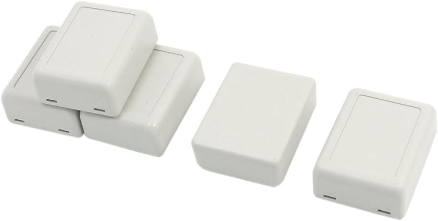 5 piezas 100 x 60 x 25 mm DIY de pl/ástico electr/ónico proyecto Box caja caja caja caja de instrumentos malet/ín