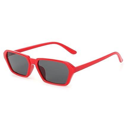 Kimruida - Gafas de Sol geométricas pequeñas con Marco de ...