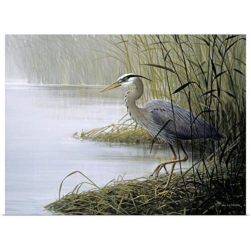 GREATBIGCANVAS Poster Print Entitled Watching and Waiting by Don Li-Leger 30