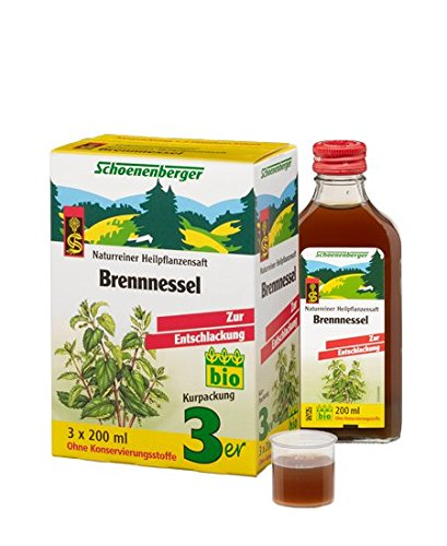 Schoenenberger Brennnesselsaft, 3 x 200 ml