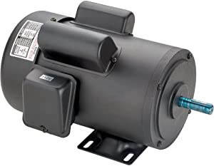 Grizzly Industrial G2536 - Heavy-Duty Motor 2 HP Single-Phase 3450 RPM TEFC 110V/220V