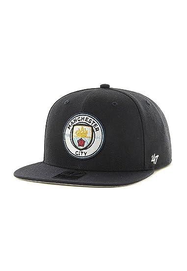 9292ba47412 Manchester City FC 47 Band Navy Blue Snapback Cap  Amazon.co.uk  Clothing