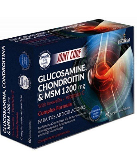 Amazon.es: Nature Essential: Glucosamina Condroitina & MSM ...
