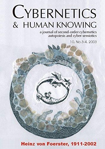 Heinz Von Foerster 1911-2002 (Cybernetics & Human Knowing)