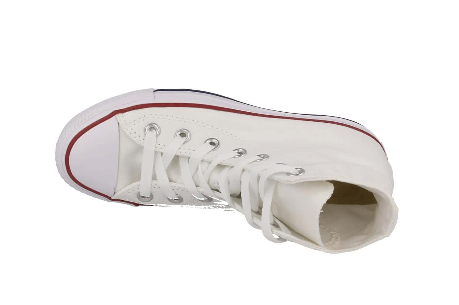 Converse Unisex Chuck Taylor All Star Hi Oxfords Optical White 6.5 D(M) US by Converse (Image #7)
