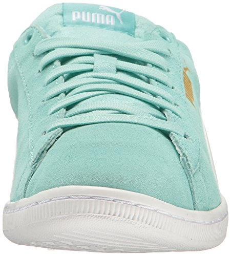 Puma Vrouwen Vikky Sneaker Aruba Blue-puma Wit