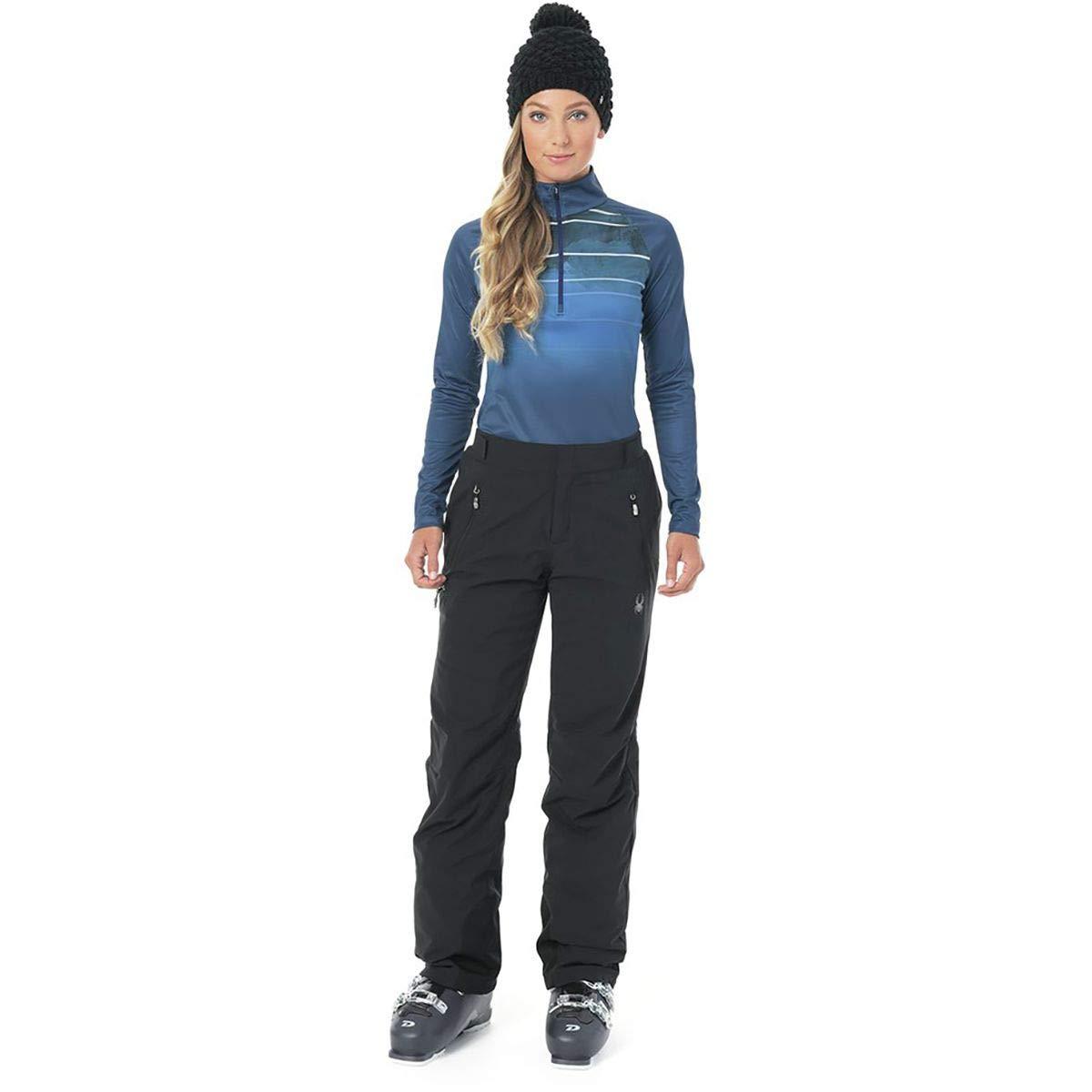BLACK BLACK Spyder Women's Winner Goretex Ski Pant Regular Fit