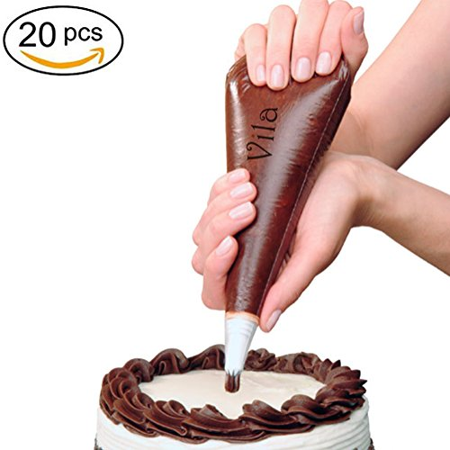 Pastry Decorating Bags and Tips