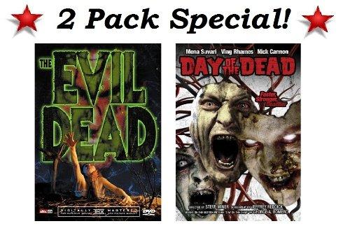 The Evil Dead (Bruce Campbell, Ellen Sandweiss, Hal Delrich, Betsy Baker & Sarah York) & Day of the Dead (Mena Suvari, Ving Rhames & Nick Cannon) -