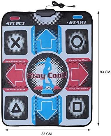 XJL Tanzdecke Tanz-Matten-Tanz-Auflage-Tanzschritt-Tanz-Matten-Auflage-Pads Tänzer Blanket Ausrüstung Revolution HD Griffige Fußdruck Matte PC mit USB