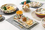 Bico Protea Cynaroides Ceramic Pasta Bowl, Set of