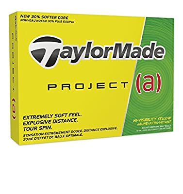 TaylorMade Project (a) Golf Balls (One Dozen), Prior Generation from Taylormade-Adidas Golf Company