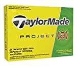 TaylorMade Project a Golf Balls (One Dozen), Yellow