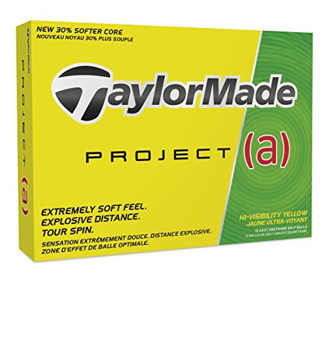 TaylorMade Project (a) Golf Balls (One Dozen), Prior Generation – DiZiSports Store