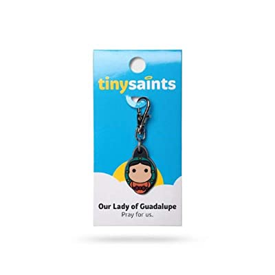 NDC Our Lady of Guadalupe Tiny Saints Charm: Jewelry