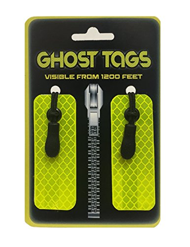 Ghost Tags - Jacket Safety Reflector Visible from 1200 FEET!