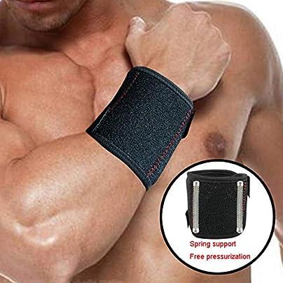 HLHSSS Wrist Wraps 1Pcs Adjustable Wrist Support Brace Wristband Men And Women Gym Professional Sports Protection Wrist Sport Wrist Wrap Support Estimated Price £24.71 -