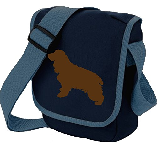 Dog Shoulder Colours Cocker Brown Blue Reporter Choice Of Spaniel Bag Gift Silhouette tqq4wX6xg