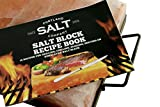 The BEST 2'' Super Thick Himalayan Salt Block 12'' x 8'' x 2'' with Heavy Duty Plate and Rugged Steel Holder For Delicious Salt Block Cooking, Sourced From World Famous Pakistani Salt Mine