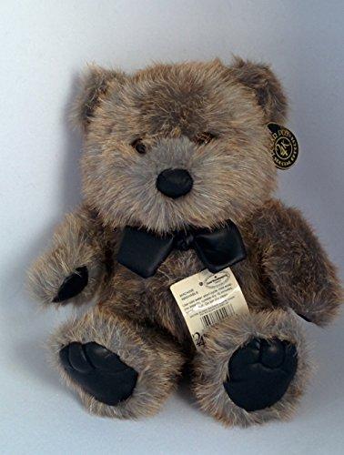 Teddy Bear by 24K Polar Plush with Bow Tie, 12 1/2