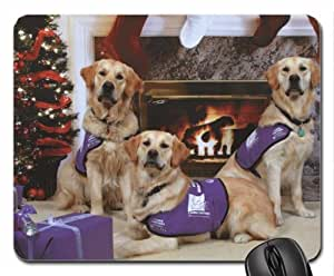 Adopt A Puppy This Christmas! Mouse Pad, Mousepad (Dogs Mouse Pad)