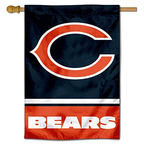Wincraft Chicago Bears Two Sided House Flag (Bears Flag House)