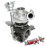 For Eclipse/Talon/Laser TD05 16G 4G63T DSM Turbocharger w/Wastegate Turbine A/R .70+30 psi Boost Controller Red