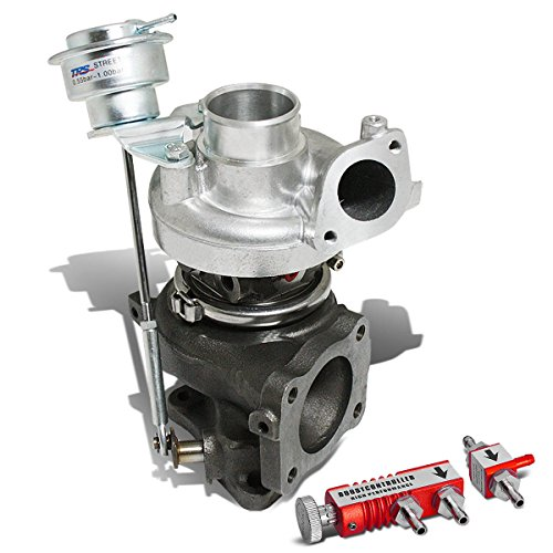 95 Plymouth Laser - MIT Eclipse/Talon/Laser TD05 16G 4G63T DSM Turbocharger w/Wastegate Turbine A/R .70 + 30 psi Boost Controller (Red)