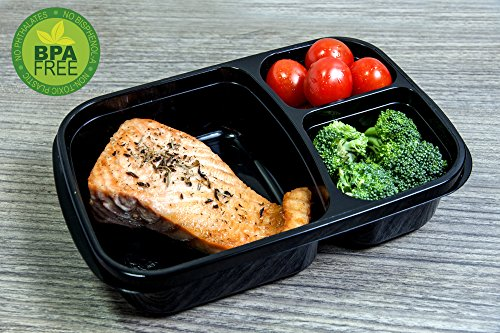 orgalif 3 compartment reusable plastic bento lunch box set of 7 buy online in uae. Black Bedroom Furniture Sets. Home Design Ideas