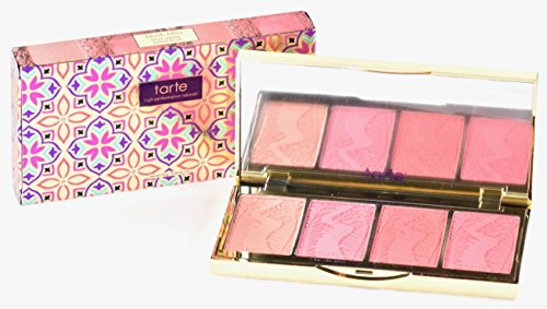 Tarte Blush Bliss Holiday Palette Amazonian Clay Blush x 4 Shades - Limited Edition