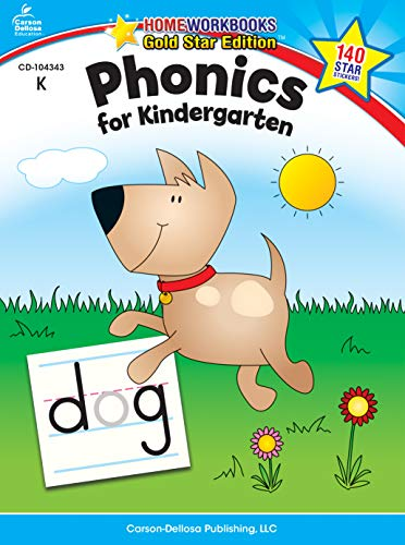 Classroom Free Charts - Phonics for Kindergarten, Grade K (Home Workbook)