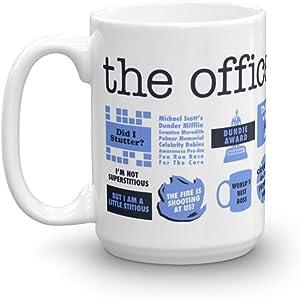 The Office Quote Mash-Up White Mug - 15 oz. - Official Coffee Mug