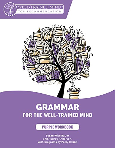 Grammar for the Well-Trained Mind: Purple Workbook: A Complete Course for Young Writers, Aspiring Rhetoricians,  and Anyone Else Who Needs to ... Works (Grammar for the Well-Trained Mind) - Grammar Lessons