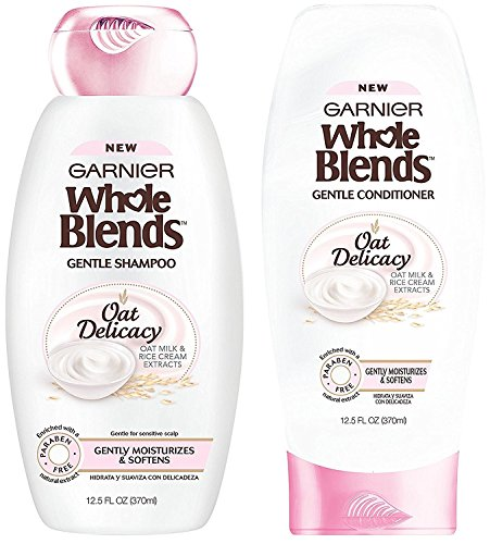 Garnier Whole Blends - Oat Delicacy - With Natural Extracts