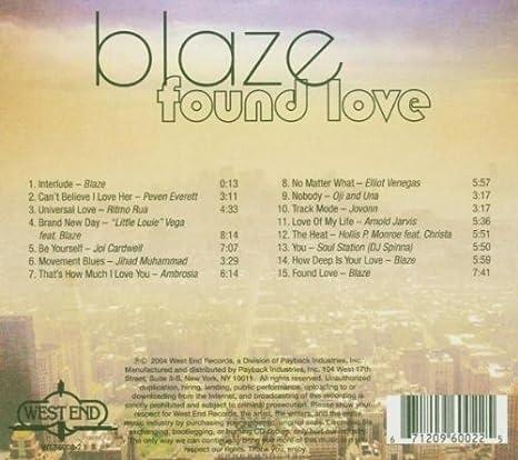 Blaze - Found Love - Amazon.com Music