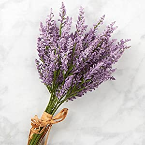 Factory Direct Craft Lavender Artificial Heather Floral Bundle for Indoor Decor and Designing 60