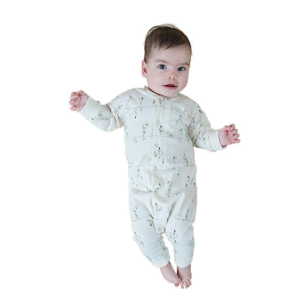 Hedgehog Gr 50//56 Living Crafts Baby//Kinder Strampler Bio-Baumwolle
