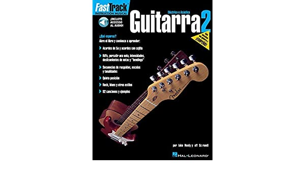 FASTTRACK GUITARRA 2 BK/CD SPANISH GUITAR by Jeff Schroedl (2002-10-01): Amazon.com: Books