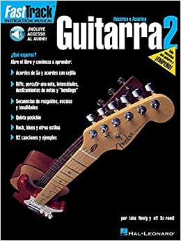 FASTTRACK GUITARRA 2 BK/CD SPANISH GUITAR by Jeff Schroedl (2002-10-01) Mass Market Paperback – 1750