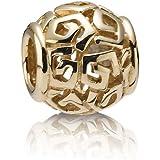 Pandora Damen-Bead 14 Karat (585) Gelbgold  75464