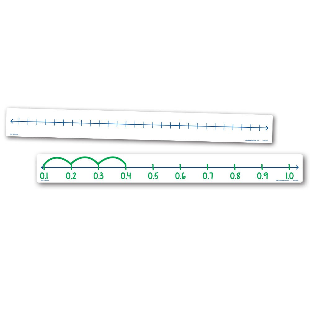 EAI Education Open Number Line Set of 10
