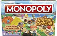 Hasbro Gaming Monopoly Animal Crossing New Horizons Edition Board Game for Kids Ages 8 and Up, Fun Game to Pla