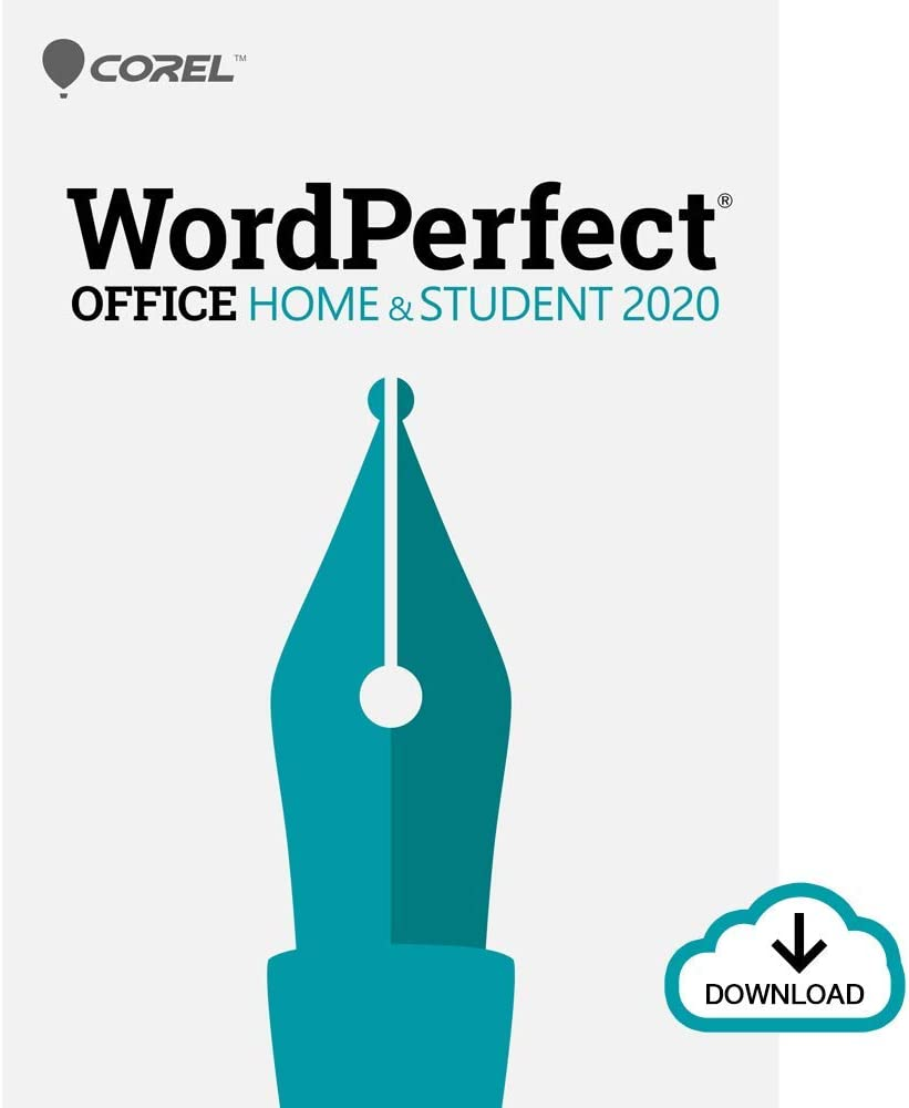 Corel WordPerfect Office 2020 Home & Student | Word Processor, Spreadsheets, Presentations | Newsletters, Labels, Envelopes, Reports, eBooks [PC Download]