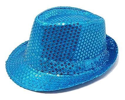 R/&F srls Cappello PAILLETTES cappellino festa party spettacolo vari colori nero
