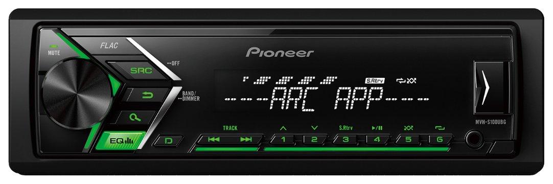 Pioneer Mvh-s100ubg Digital sté ré o de Voiture avec Tuner RDS, USB et auxiliaire