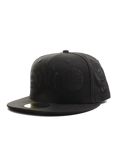 New Era - Gorra de béisbol - para hombre negro 7 7/8: Amazon.es ...