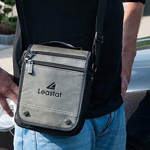 """""""Leastat"""" bolso al hombro, bolso cruzados, Canvas, Unisex / Men (ca. 20/25/ 9) Mod. 2073 by fashion-formel"""