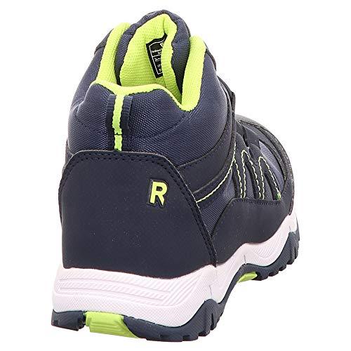 Mode Fille 4818 31 Yello Kinderschuhe Richter Baskets neon Bleu 2571 atlantic 7201 XUTng