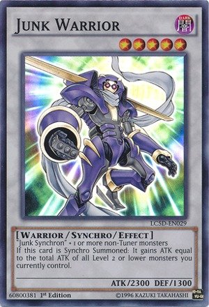 - Yu-Gi-Oh! - Junk Warrior (LC5D-EN029) - Legendary Collection 5D's Mega Pack - 1st Edition - Super Rare